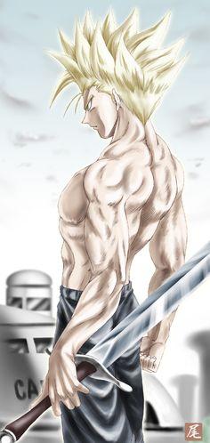 Tags: Anime, DRAGON BALL, Trunks Briefs, Muscles, Super Saiyan