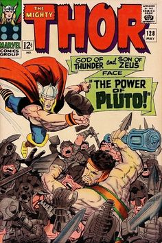 """Thor #128 - """"The Power of Pluto!"""""""