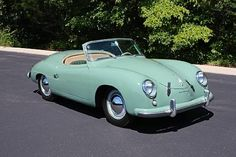1950's Porsche Roadster - what is there not to love!!