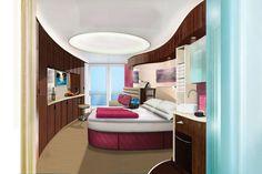 Norwegian Cruise Line Epic Rooms