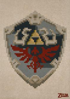 Pixeled Zelda 1