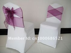 types of chair bows - Google Search