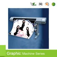 For Outdoor&Indoor Advertising Printing 1.8 m wide format inkjet printer, 1440 dpi Sinocolor,