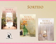 SEMPRE ROMÂNTICA!!: [Resultado] Sorteio: Trilogia A Pousada - Nora Rob...
