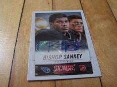 #2014Score 339 #BishopSankey RC #RookieAuto #AutographedCard | #eBay #TennesseeTitans #NFL