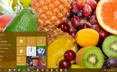 Fruit Theme Desktop