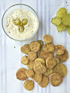 Spicy Fried Pickles. Easy & crazy delicious.
