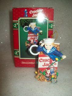 Enesco Treasury of Christmas Cracker Jack Ornament, 1996 by Enesco, http://www.amazon.com/dp/B002TDYOAS/ref=cm_sw_r_pi_dp_8eWKrb0QFYGTG