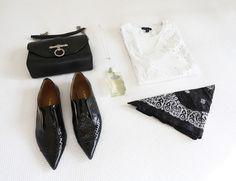 bag: Givenchy | necklace: Elvis | tee: Ksubi (similar...