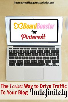 This is such an awesome blogging tip - Use BoardBooster for Pinterest scheduling and drive traffic to your blog indefinitely once you set it up!  And it's inexpensive!