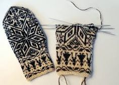 selbuvotter gratis oppskrifter – Google Søk Mitten Gloves, Mittens, Easy Knitting Patterns, Yarn Shop, Free Pattern, Knit Crochet, How To Make, Color, Fashion