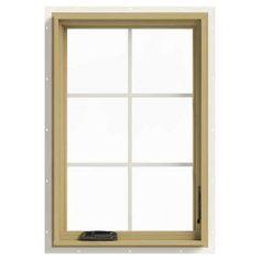 24 in. x 36 in. W-2500 Right Hand Casement Aluminum Clad Wood Window