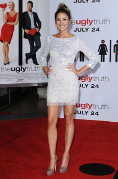Share this video & get paid! Rosalee Calvert, Bree Turner, Celebs, Celebrities, Best Shows Ever, American Actress, Grimm, Peplum Dress, Beautiful Women