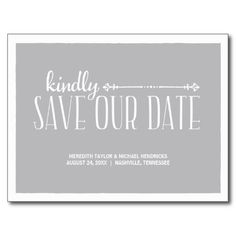 Shop Whimsical Rustic Save the Date Announcement Postcard created by dulceevents. Personalize it with photos & text or purchase as is! Vintage Save The Dates, Diy Save The Dates, Modern Save The Dates, Rustic Save The Dates, Save The Date Postcards, Save The Date Cards, Mason Jar Wedding Invitations, Save The Date Invitations, Wedding Invitation Sets