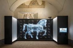 Migliore+Servetto Architects Renovate Italian Castle to Host Leonardo da Vinci Exhibition | designboom