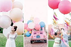 The ultimate guide to where to find giant balloons for weddings, parties and events. Vintage Pastel Wedding, Pastel Wedding Colors, Wedding Cake Decorations, Wedding Favors, Happy Wallpaper, Giant Balloons, Garden Party Wedding, Wedding Aisles, Globes