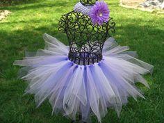 Girls Purple Tutu--Lavender Tutu- Purple Birthday Outfit- 1st Birthday Tutu- Toddler Tutu-Purple Fairy tutu. $20.00, via Etsy.