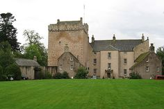 Scotland   Kilravock Castle Located Croy, Inverness This is interesting: According to the Clan Rose Society of America, this is the only Scottish castle to have the distinction of being continuously inhabited since it was built.
