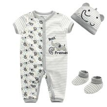Buy 3pcs/lot Baby Clothes Fashion roupa infantil Short Sleeves overalls Newborn Boy Girl Clothing Sets baby rompers at www.babyliscious.com! Free shipping to 185 countries. 21 days money back guarantee. Girls Playsuit, Baby Boy Romper, Girls Rompers, Baby Rompers, Baby Jumpsuit, Baby Bodysuit, Winter Outfits For Girls, Baby Boy Outfits, Kids Outfits