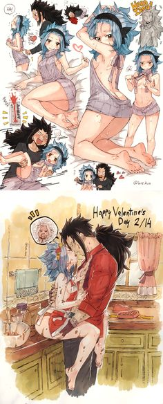 Fairy Tail ♥ Gajevy ♥