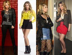 Pretty little liars Hanna Marin Outfits, Pll Outfits, Cute Outfits, Fashion Outfits, Fasion, Pretty Little Liars Hanna, Pretty Little Liars Outfits, Mode Rockabilly, 2010s Fashion