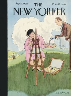 The New Yorker - Saturday, September 1, 1928 - Issue # 185 - Vol. 4 - N° 28 - Cover by : Helen E. Hokinson