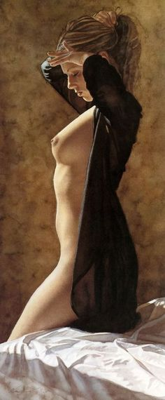 Art by Steve Hanks — Her Time