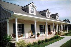 Country House Plans - Farmhouse Home Design DH2108 # 2213