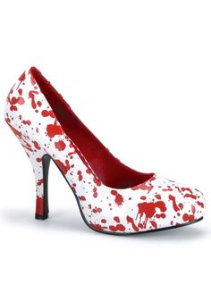 Bloody High Heels #Sexy #Shoes #Halloween
