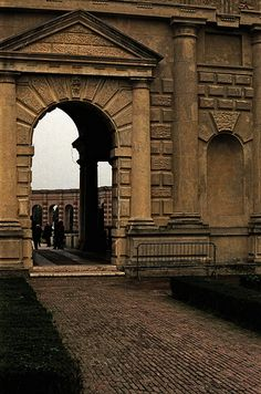 Mantova: Palazzo del Te, a fine example of the mannerist style of architecture, and the acknowledged masterpiece of Giulio Romano.
