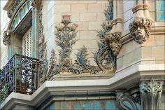"""daughterofchaos: """"  Eléments de décor d'un immeuble art nouveau (Paris) by Jean-Pierre Dalbéra on Flickr """""""