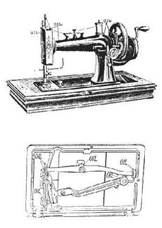 21 Best Antique 1887 Standard Rotary Sewing Machine images