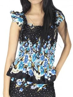 WRAPEE BLUE [FF0207-10003] - Rs899.00 : FEEROL FASHIONS, The Fashion Collection