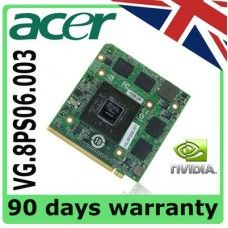 nVidia VG.8PS06.003 Acer Aspire 5520 6530G 5920G Servicio de Reparación de tarjeta gráfica