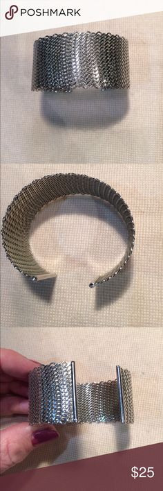 Vintage silver mesh bracelet Great condition Jewelry Bracelets