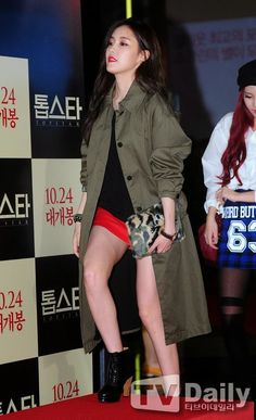 T-ara's Hyomin, Qri and Eunjung attended the VIP Premiere of 'Top Star' ~ T-ara World ~ 티아라