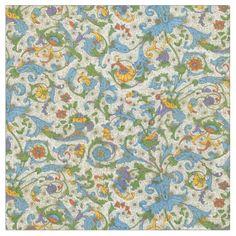 Positano Floral Fabric