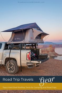 Road Trip Travel Tips and Hacks: Rooftop tent camping with a Tepui hard shell ro. Road Trip Hacks, Camping Hacks, Camping Stuff, Camping Ideas, Road Trips, Camping Supplies, Diy Camping, Europe Destinations, Rooftop Tent Camping
