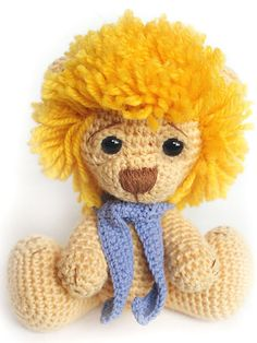 Free Knitting Pattern Toy Lion : Ideas Amigurumi on Pinterest Amigurumi, Free Crochet and Free Pattern