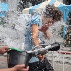 タイ バンコク ソンクラーン水かけ祭り 2013 Vol.1