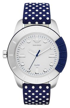 adidas+Originals+'ADH-1969'+Leather+Strap+Watch,+42mm+available+at+#Nordstrom