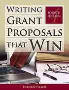 Writing grant proposals that win- DMNB Stacks (Saint John) HG177 .H35 2012