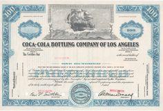 Coca-Cola Bottling Company of Los Angeles Coca Cola Stock, Coca Cola Bottling Company, Awesome Definition, Bond, Collage, Vintage, Collages, Collage Art, Vintage Comics