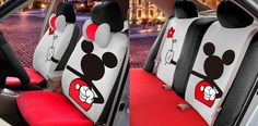 Disney Discovery- Mickey Mouse Seat Covers
