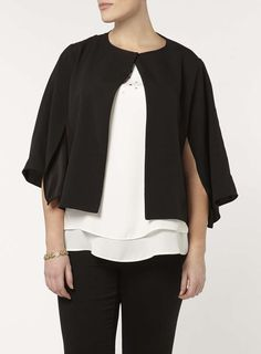 Collection Split Sleeve Jacket. 100% Polyester.