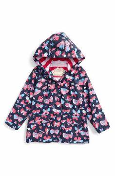 Hatley Butterflies Hooded Raincoat (Toddler Girls, Little Girls & Big Girls)