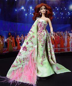 OOAK Barbie NiniMomo's Miss Cote d'Azur 2011