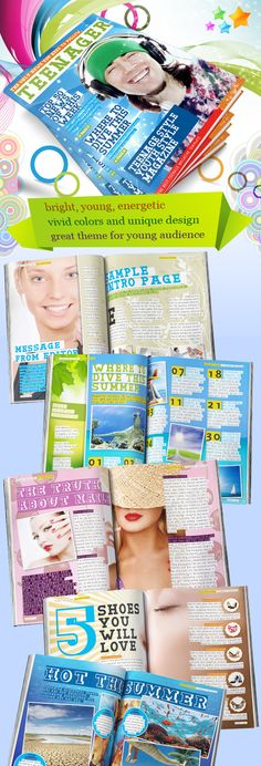 Teenage-Magazine-Indesign-template-preview