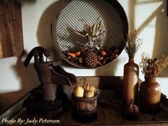 Pinterest Primitive Decor | My Primitive Fall Decor