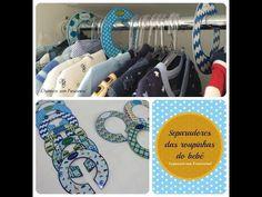 Organize sem Frescuras!: Vídeo: Separadores de roupas para organizar o armário do bebê (para imprimir)